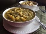 Italian light vegetable soup