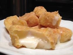 Asiago cheese cubs
