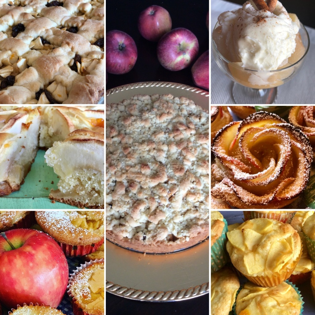 7 easy and fast Italian recipes with apples
